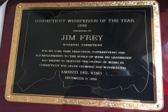 Connecticut Wine Person of the Year, 2016