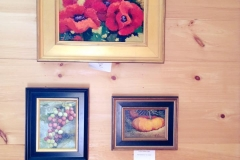 Featured artists in our tasting room