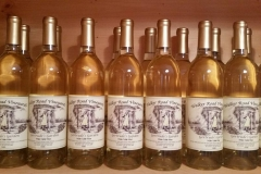 Bottles of our white table wine